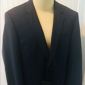 NWT HUGO BOSS Men's Black Suit size US 40s